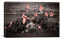 lobster pile, Canvas Print