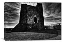 Clitheroe Castle, Canvas Print