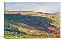 Moorland Magic, Canvas Print