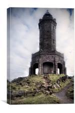 Darwen Tower, Canvas Print