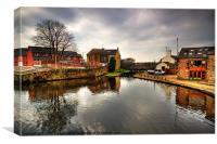 Canal Basin, Canvas Print