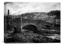 Packhorse Bridge Hebden Bridge, Canvas Print