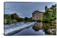 Salts Mill, Saltaire, Canvas Print