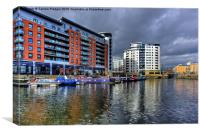 Boats in Clarence Dock Leeds