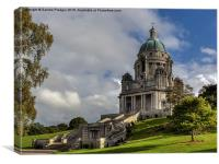 Ashton Memorial Lancaster, Canvas Print