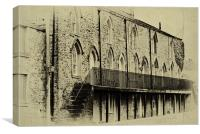 Terrace Row, Canvas Print