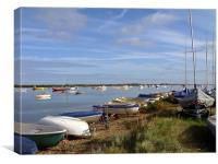 View From Marina at Aldeburgh, Canvas Print
