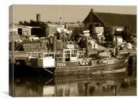 Brancaster Fishing Boat, Canvas Print