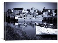 Brancaster Fishing Boats, Canvas Print