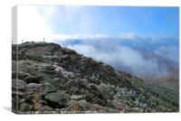 Whiteface Above The Clouds, Canvas Print