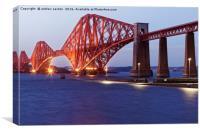 BIG BRIDGE, Canvas Print