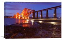 BRIGHT BRIDGE, Canvas Print