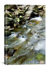 GENTLY WATERFALL, Canvas Print