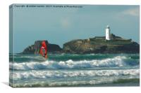 BLOWN TO THE LIGHTHOUSE , Canvas Print