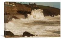 BIG WAVE, Canvas Print