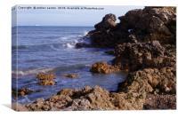 COASTAL SEA, Canvas Print