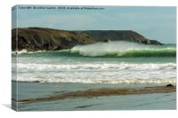 SEA CREST , Canvas Print