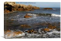 SEA ROLLS, Canvas Print