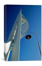 The Spinnaker Tower., Canvas Print