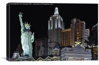 New York, New York., Canvas Print