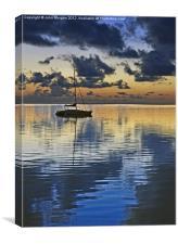 Dawn., Canvas Print