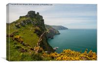 North Devon Coast., Canvas Print