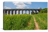 Balcombe Viaduct, The Ouse Valley, sussex., Canvas Print