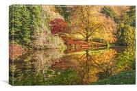 Autumn colours., Canvas Print