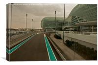 Yaz Marina F1 Abu Dhabi., Canvas Print