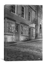 Queen Street, Bath , Canvas Print