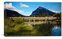Rocky Mountain River Bridge
