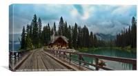 Canadian Lake Retreat, Canvas Print