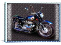 Classic 1959 Black BSA 500cc Shooting Star