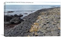The Giants causeway 1, Canvas Print