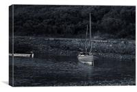 sailboat, Canvas Print