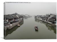 CaoGang River at ZhuJiaJiao, Shanghai, China