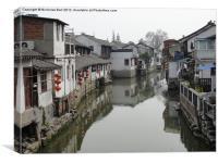 A Small Tributary in ZhuJiaJiao