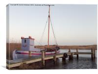Danish Fishing Boat, Canvas Print