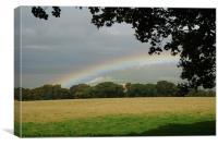 Cool Rainbow, Canvas Print