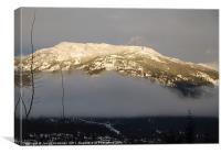 Sunny Mountain, Canvas Print