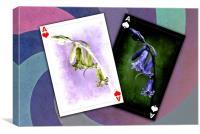 Aces, Canvas Print