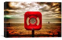 Scarborough beach, Canvas Print