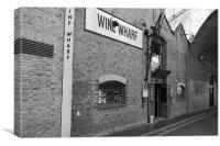 Wine Wharf, Canvas Print