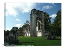 St Marys Abby, Canvas Print