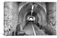 Tunnel, Canvas Print