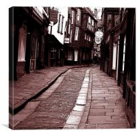 Shambles of York, Canvas Print