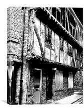 Shambles Street of York, Canvas Print