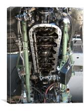Mighty Rolls Royce Merlin, Canvas Print