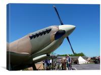 Spitfire Mk 1A, Canvas Print