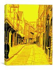 York Shambles, Canvas Print